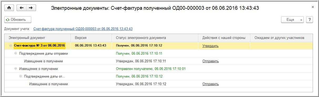 Как сделать электронный счет фактуру