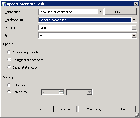 Обновление статистики ms sql 1с 1с инструкции по установки на 64
